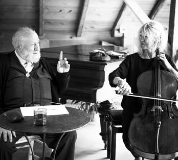 Michel Butor et Catherine Wargnier