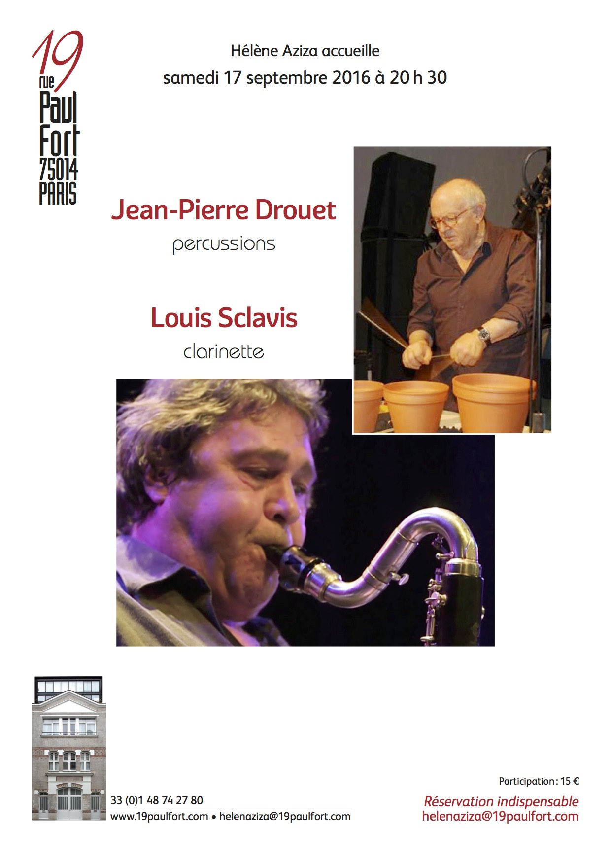 Drouet-Sclavis-Invit